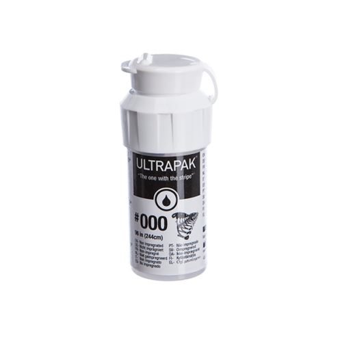 Ultrapak 000 retrakciós fonal fekete - Ultradent