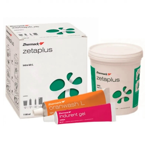 Zetaplus+Oranwash L+Indurent gel szett - ZHERMACK