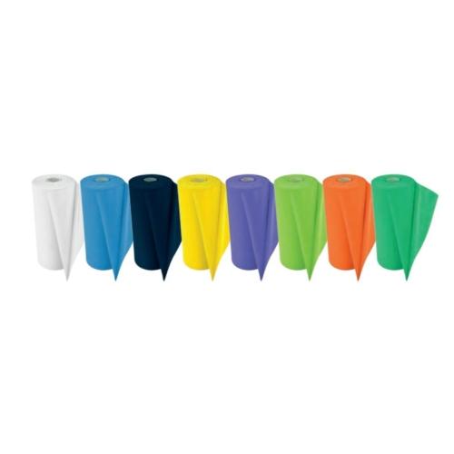 Nyálkendő tekercses, sárga, 80db, 50x60cm, 2 réteg - ASA egyszerhasználatos