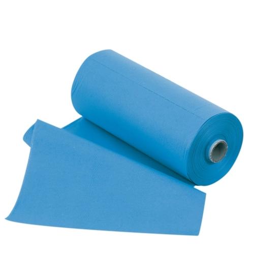 Nyálkendő tekercses, vil.kék, 60db, 50x80cm, 2 réteg - ASA egyszerhasználatos