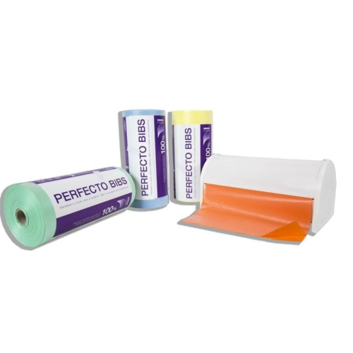Műanyag nyálkendő zöld 200db - Dispotech