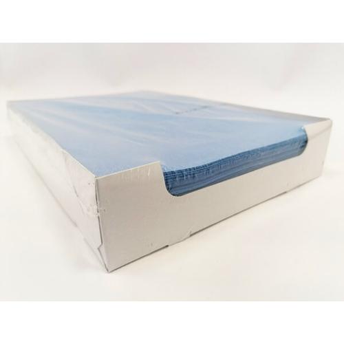 Tálca Papír 250db kék, 18x28 cm - Dispotech