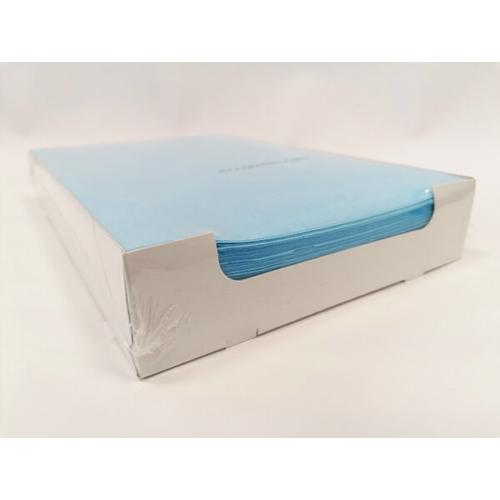 Tálca Papír 250db világoskék, 18x28 cm - Dispotech