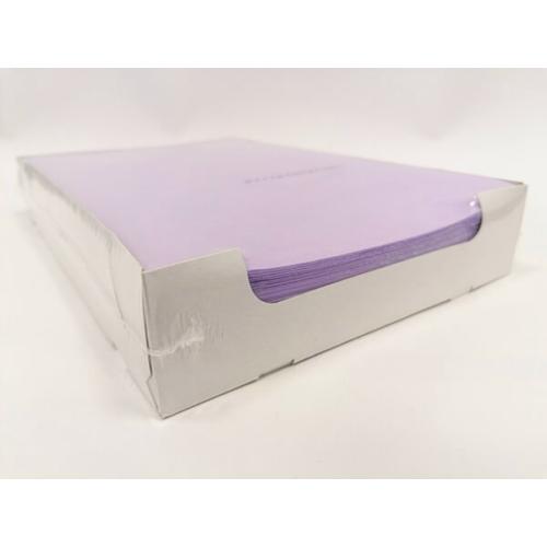 Tálca Papír 250db lila, 18x28 cm - Dispotech