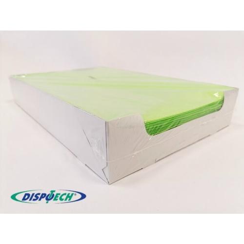 Tálca Papír 250db lime, 18x28 cm - Dispotech