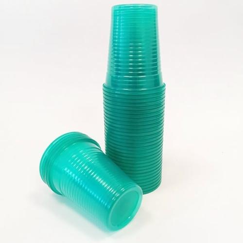 Műanyag Pohár, Türkiz, 100db - Dispotech