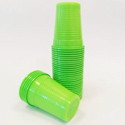 Műanyag Pohár, Lime, 100db - Dispotech