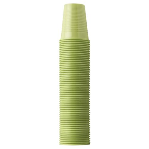 Műanyag Pohár 2dl, lime, 100db