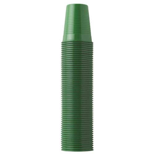 Műanyag Pohár 2dl, zöld, 100db