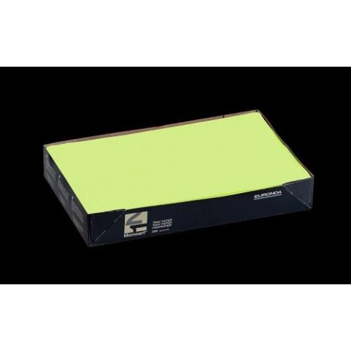 Tálca Papír 250db Lime 18x28cm