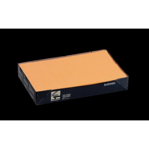 Tálca Papír 250db Narancs 18x28cm