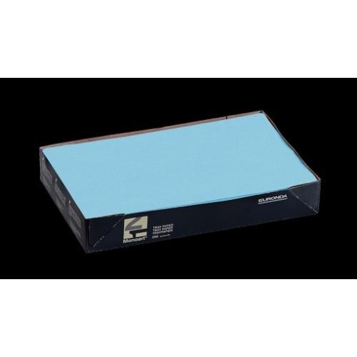 Tálca Papír 250db Kék